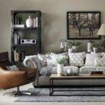 Grey Living Room Leather Armchair Great Schemes