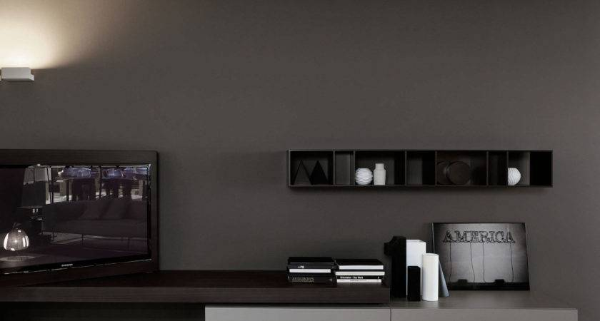 Grey Paint Colors Modern Minimalist Home Midcityeast