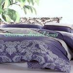 Grey Purple Bedding Sets Comforter