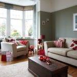 Grey Red Living Room Ideas Design Decoration