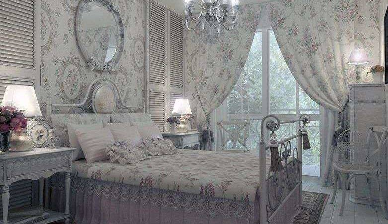 Grey Shabby Chic Bedroom Furniture Set Beautiful Wall