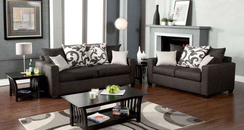 Grey Sofa Set Graphite Gray Living Room Sets