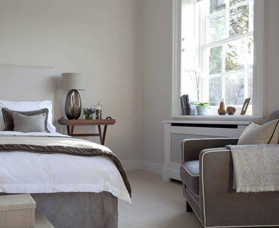 Grey Toned Bedroom Traditional Bedrooms Decorating