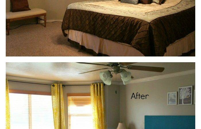 Grey Turquoise Bedroom Todaysmama Makeover