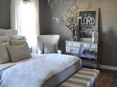 Grey White Master Bedroom Decor Darling Super Cute