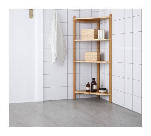 Grund Corner Shelf Unit Ikea