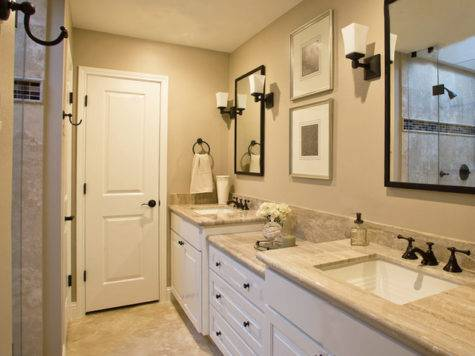 Guest Bathroom Traditional Houston