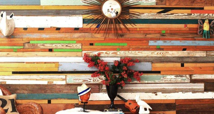 Hand Made Reclaimed Wood Wall Installations