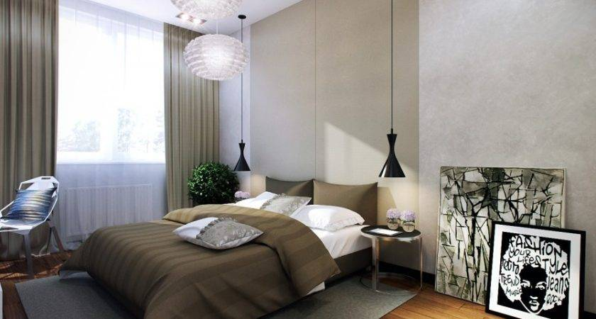 Hanging Bedside Lamps Interior Design Ideas