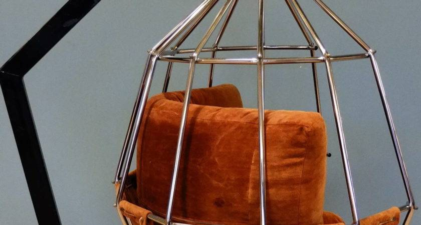 Hanging Cage Armchair Stdibs
