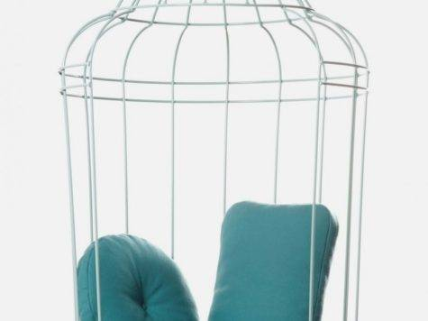 Hanging Chair Large Birdcage Shape Cageling Home