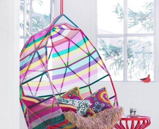 Hanging Chairs Girls Bedrooms Home Interiors