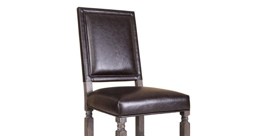 Hazelwood Home Distressed Wood Side Chair Wayfair