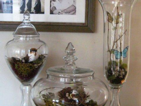 Heart Desire Spring Apothecary Jars
