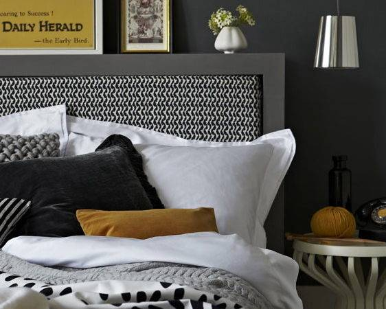 Heart Home Fall Issue Grey Yellow Decor Inspiration