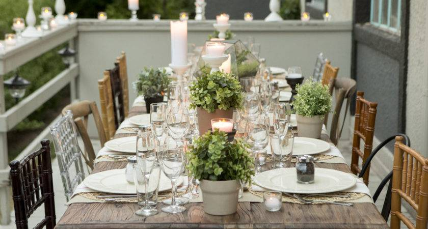 Heart Outdoor Dinner Parties Lovely Events