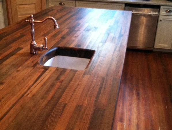 Heartpine Countertop Woodology