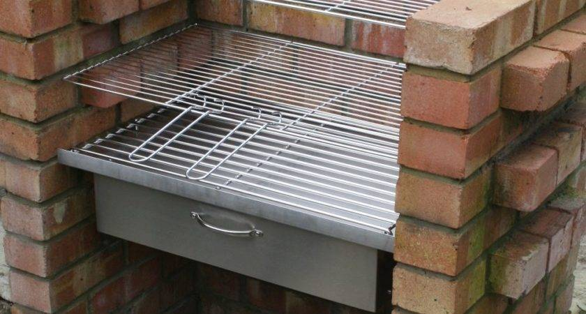 Heavy Duty Diy Brick Charcoal Bbq Oven Cupboard