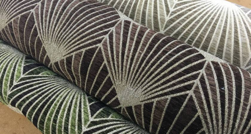 Heavyweight Luxury Art Deco Abstract Chenille Velvet