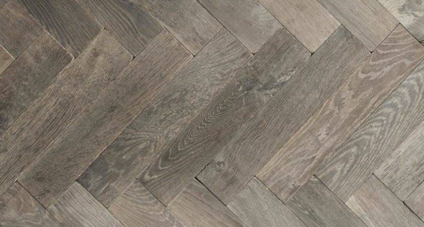 Herringbone Wood Floor Border Installation