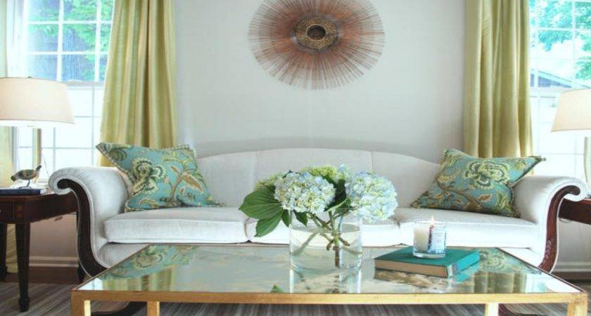 Hgtv Decor Purple Green Blue Living Room