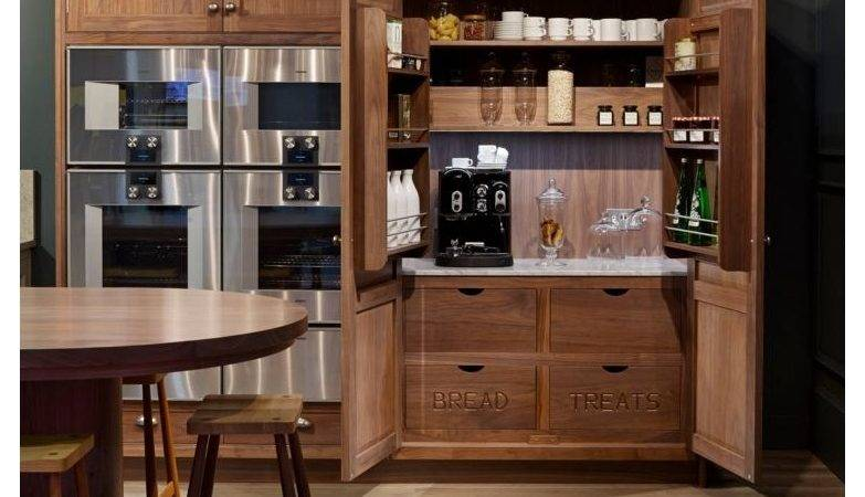 Hidden Coffee Bar Design Ideas