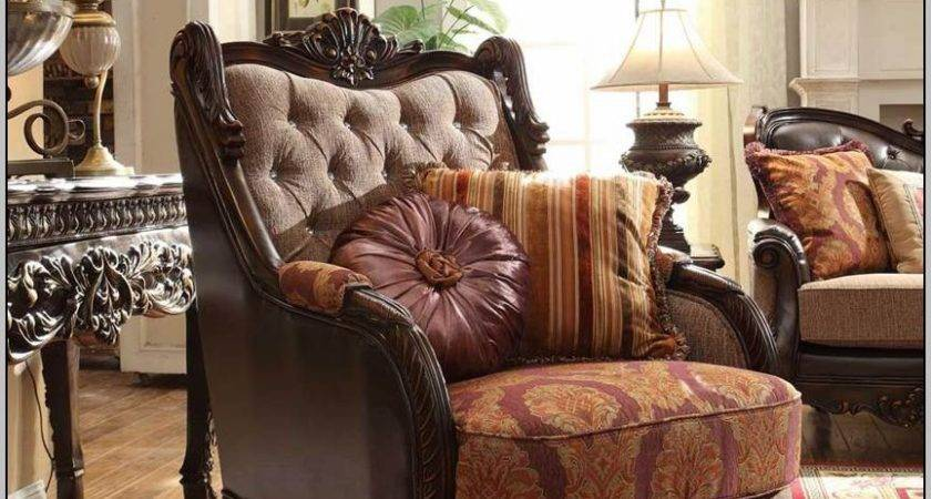 High End Formal Living Room Furniture Chairs Home