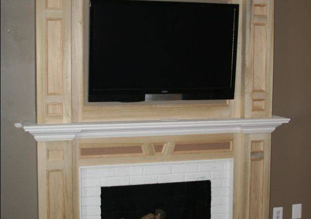 High Quality Mantle Over Fireplace Mantel