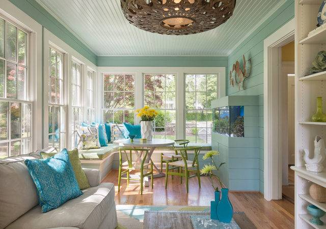 Hill Harbour Beach Style Sunroom Providence