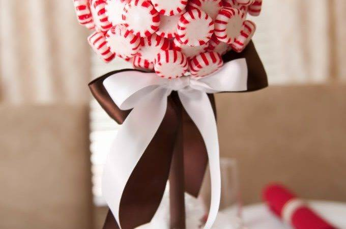 Holiday Decor Decorating Peppermint Candy