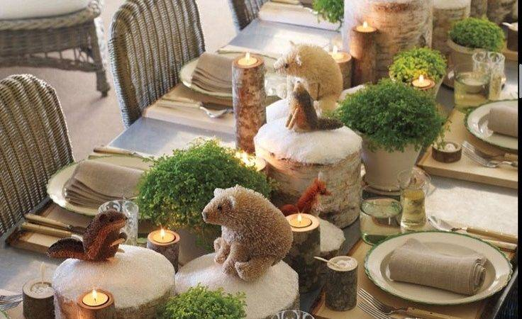 Holiday Table Setting Found December Issue