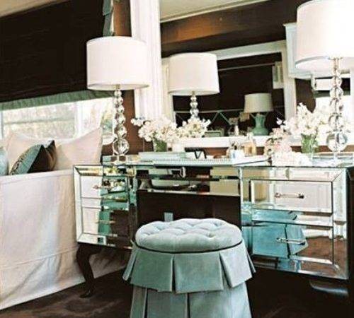 Hollywood Glamour Style Bedrooms Home Decorating