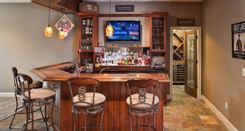 Home Bar Ideas Any Available Spaces
