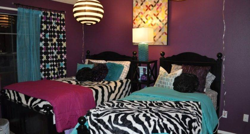 Home Decor Amusing Zebra Print Room