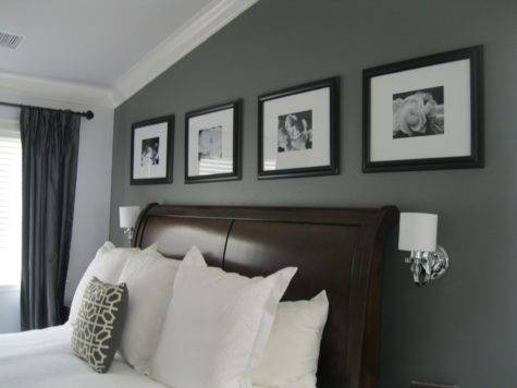 Home Decor Design Charcoal Gray Master Suite