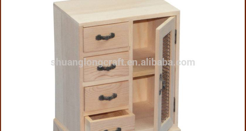 Home Decor Small Wooden Storage Cabinets Living Room