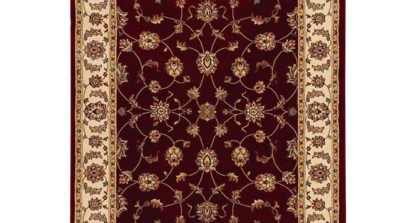 Home Decorators Collection Claire Red Beige