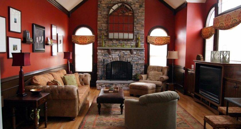 Home Design Captivating Red Living Room Chairss