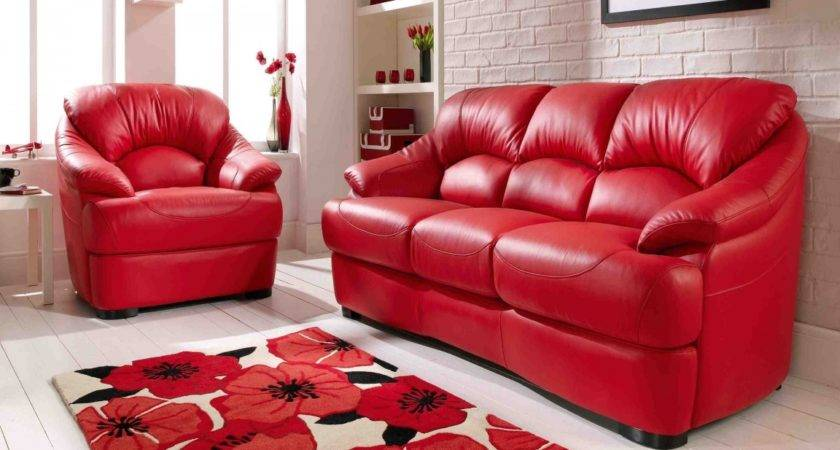Home Design Living Room Red Couch Decor Photos
