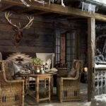 Home Design Rustic Country Porch Decor Ideas