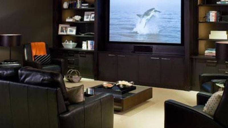Home Furniture Decoration Media Rooms Decorating Ideas