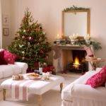 Home Interior Design Christmas Living Room Decorating Ideas