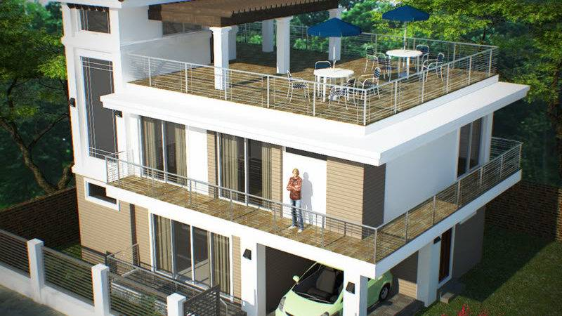Home Plans Roof Deck
