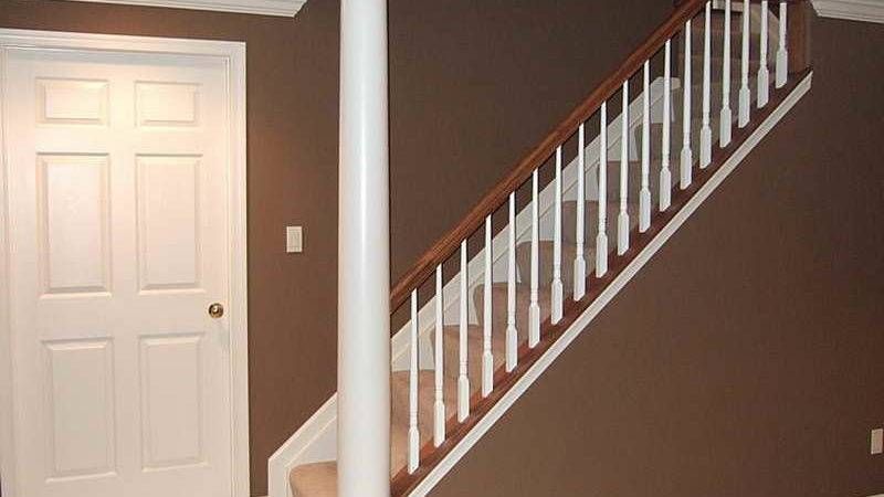 Home Remodeling Basement Ideas Stair Railing