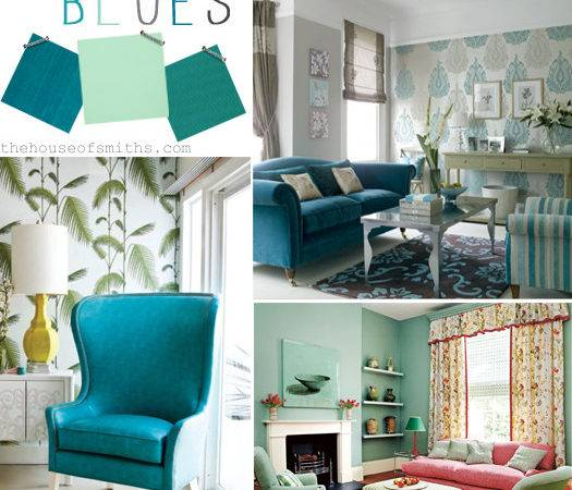 Home Trends Love Out Bounds Blues