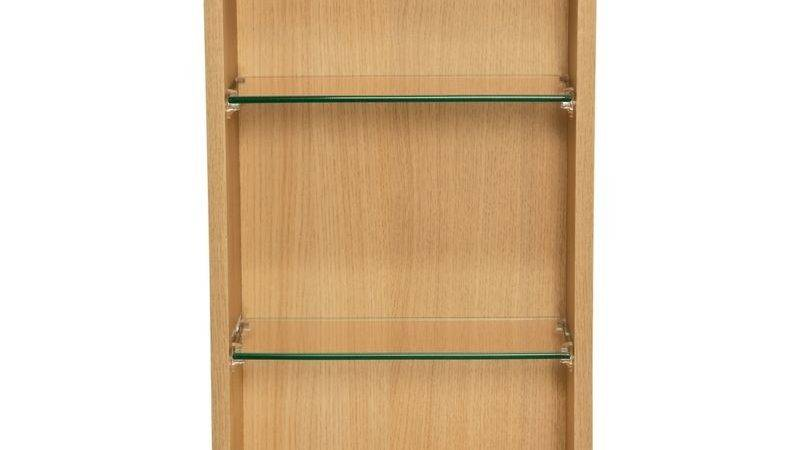 Homebase Schreiber Fitted Single Wall Unit Oak Effect