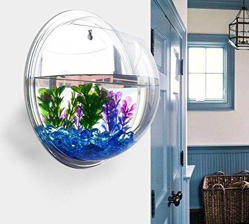 Homecube Wall Hanging Bubble Fish Tank Flowerpot