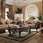 Homey Design Tuscano Living Set