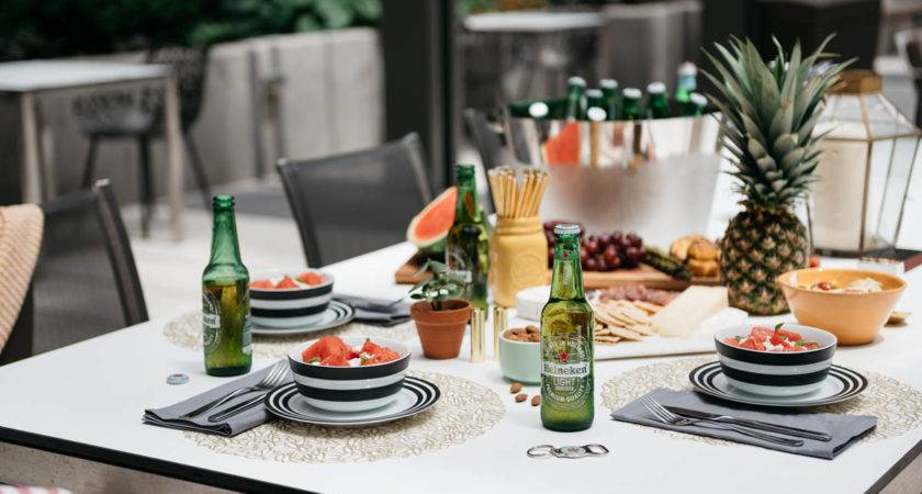 Host Healthy Outdoor Dinner Party