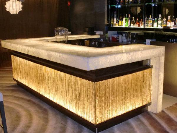 Hot Sale Modern Design Solid Surface Acrylic Led Effect